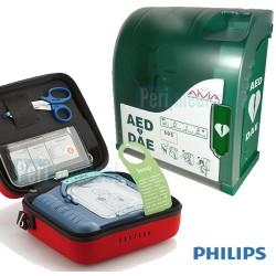 defibrillateur-philips-hs1-armoire-protection-murale-aivia-100s