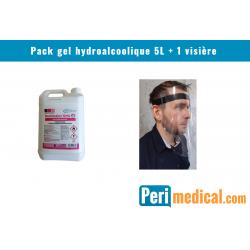 Pack gel hydroalcoolique 5L...