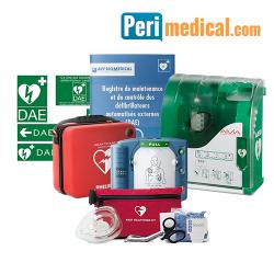 Pack Défibrillateur Philips HS1 Extérieur Sécurisé