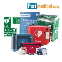 Pack Défibrillateur Philips FRx Extérieur Sécurisé