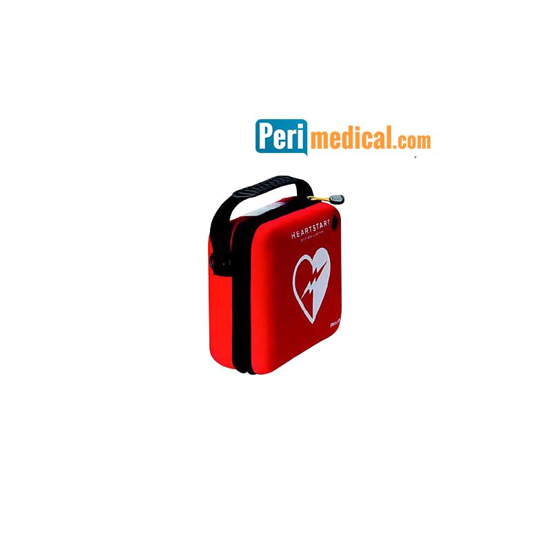 Mallette de transport extra-plate pour défibrillateur PHILIPS HS1
