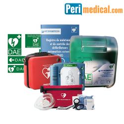 Pack Défibrillateur Philips HS1 Intérieur Sécurisé