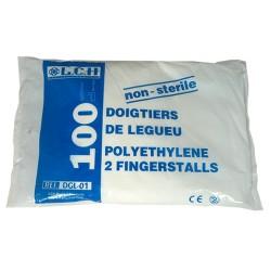 Doigtier polyéthylène 2...